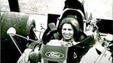Princess Royal's taste of life in the fast lane