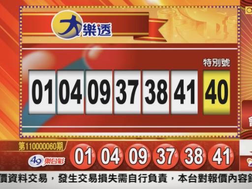 6/25 大樂透、雙贏彩、今彩539 開獎囉!