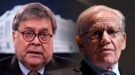 Bob Wooward avoids saying whether or not Bill Barr cooperated for Peril