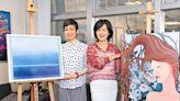 日本韓國空姐疫情下畫出彩虹