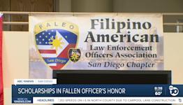 Scholarships in honor of fallen officer Jonathan De Guzman