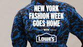 New York Fashion Week Has an Unexpected New Partner: Lowe's