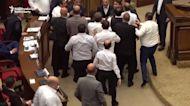 Brawls Break Out in Armenian Parliament