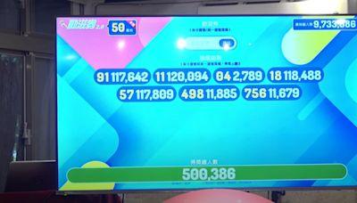 動滋券第二次抽籤7組號碼出爐 抽出50萬386份
