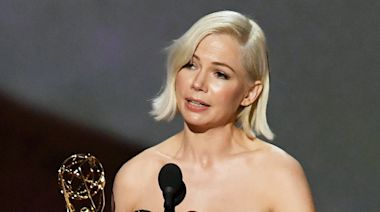 Michelle Williams Pleads for Pay Equality — 'Especially Women of Color' — in Her 2019 Emmy Win