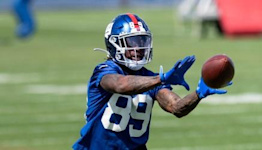 What's making Giants rookie Kadarius Toney an afterthought?