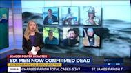 Sixth body recovered from lift boat that capsized off Louisiana coast