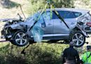 老虎伍茲車禍原因曝光 飆速140公里過彎失控