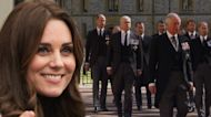 Kate Middleton Served as 'Peacemaker' for Prince William and Prince Harry at Prince Philip's Funeral