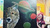 8歲女孩為幫助瀕危動物 自創畫作販售民眾驚豔:太美了!