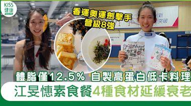 東京奧運 江旻憓素食後更強壯 美女港隊劍擊手直擊奧運素食   營養食療   Sundaykiss 香港親子育兒資訊共享平台