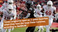 Texas Football: Longhorns open as favorites over Iowa State per BetMGM