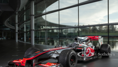F1 Enthusiasts Now Have A Once In A Lifetime Opportunity To Own A Legendary Mclaren-Mercedes Mp4-25 Formula 1 Car