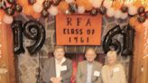 Rome Free Academy Class of 1961 gather