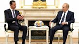 Foreign forces must leave Syria, Putin tells al-Assad in Moscow