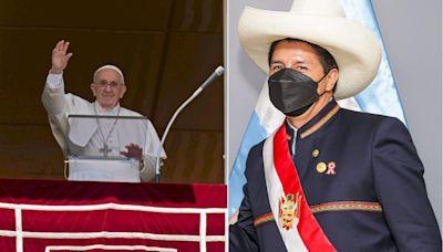 El papa Francisco saludó a Perú tras la asunción de Pedro Castillo - Diario Hoy En la noticia