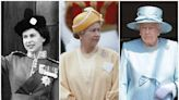 What the Queen has worn on her official birthday every year of her reign