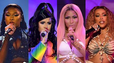 Megan Thee Stallion, Cardi B, Nicki Minaj and More -- How Female Rappers Dominated in 2020