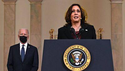 President Joe Biden and Vice President Kamala Harris Call George Floyd's Family After Verdict