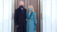 Biden enters the White House for the first time as president