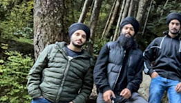 Sikh hikers used their turbans to save 2 men trapped in waterfall pool