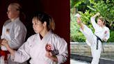 2024巴黎奧運將取消手道:劉慕裳第一次也是最後一次出戰奧運!「空手道女神」Grace道場外穿搭原來是陽光美少女