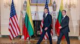 立陶宛挺台抗中 布林肯「鐵一般堅定支持」外交部:欣見民主陣營發揮團結力量