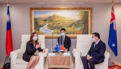 澳洲代表訪桃園 鄭盼澳洲支持台灣加入CPTTP