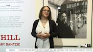 American Jazz Museum Smithsonian Traveling Exhibition Billie Holiday at Sugar Hill, photography by Jerry Dantzic.