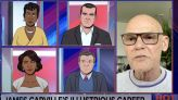 WATCH: James Carville's 'Storied Career' Gets Taken to Task by Colbert's Cartoon Anchors in Brutal Tooning Out the News Interview