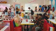 'Saved by the Bell' Sneak Peek: The New Bayside High Class Hangs Out at The Max (Exclusive)