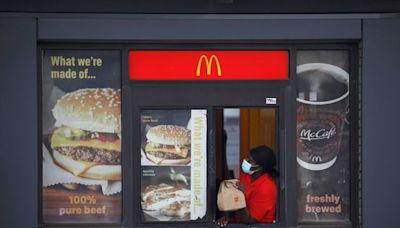 麥當勞因美國工人工資上漲將漲價