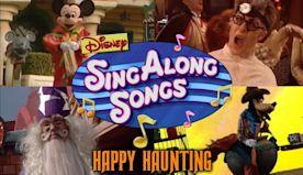 Disney Sing Along Songs Happy Haunting Party At Disneyland In HD