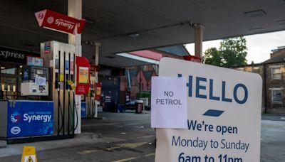 英燃油危機加深 一半以上獨立加油站缺油停擺