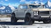 Land Rover Defender Renders 皮卡設計圖曝光,外型酷似福特 Ford F-150