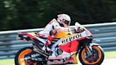 German MotoGP: Marquez quickest in FP1, Quartararo second