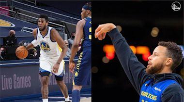 NBA/連續11場30分!勇士中鋒:今年的柯瑞比16年更強