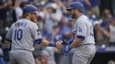 Dodgers use late-inning rally to beat Rockies and move within a game of Giants