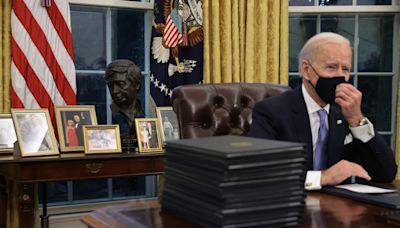 Winston Churchill bust 'not on display' in Joe Biden's Oval Office