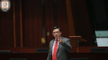 議員轟政府被司法拖累 重申改革刻不容緩