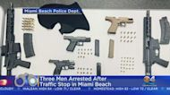 Heavy Duty Weapons Discovered During Sunday Traffic Stop In Miami Beach