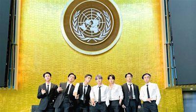 BTS再登聯合國演講!小粉紅竟怒轟「防彈少年辱華團」