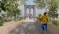 This redesign of the Brooklyn Bridge involves a Guatemalan forest