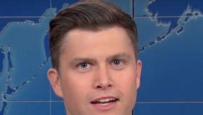 La estrella de Saturday Night Live, Colin Jost, rompe récord en el último episodio del programa