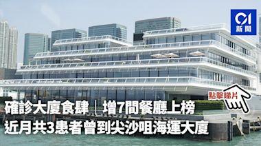 確診大廈食肆|增7間餐廳上榜 近月共3患者曾到尖沙咀海運大廈