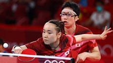 日本桌球混雙