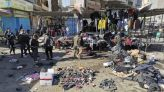Islamic State claims deadly and rare twin blasts in Baghdad