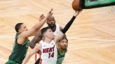 NBA roundup: Heat clinch playoffs with win over Celtics