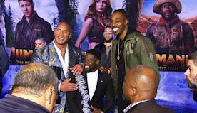 'Jumanji' takes things to 'The Next Level,' according to Dwayne Johnson, Kevin Hart