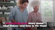 7 Cooking Mistakes Every Home Chef Makes—and How to Fix Them